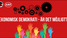 Ekonomisk demokrati eventbanner